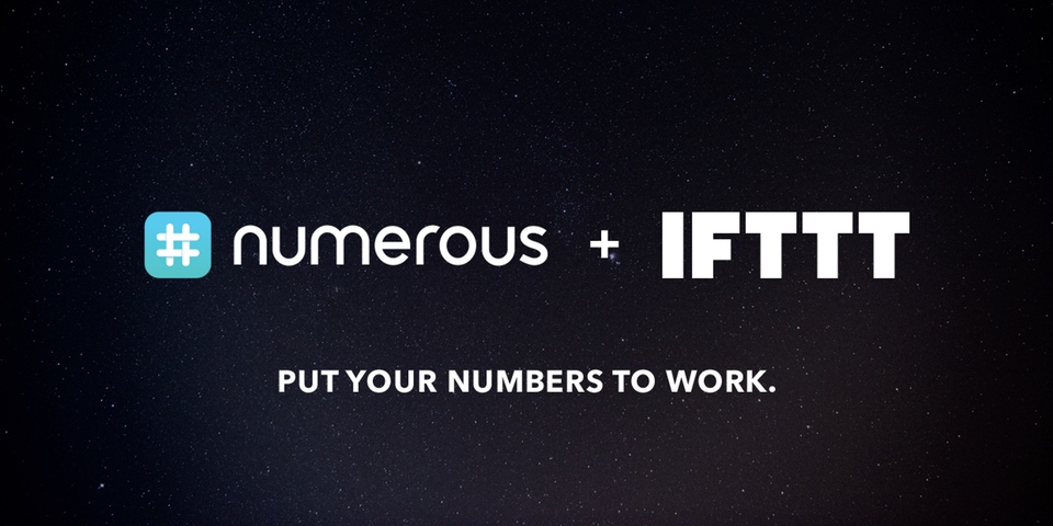 The New Numerous Channel for IFTTT